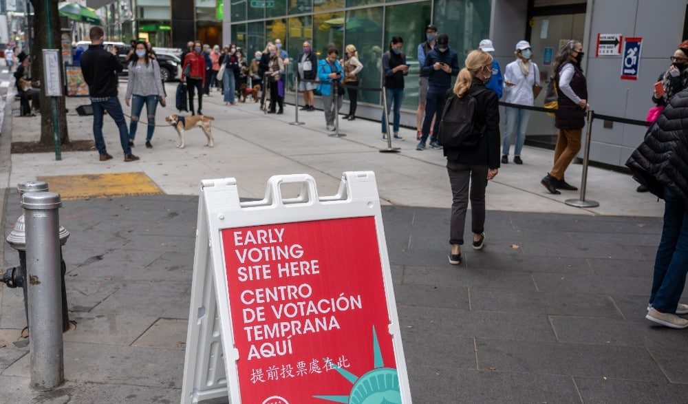 Over 1 Million New Yorkers Turned Out For Early Voting In NYC
