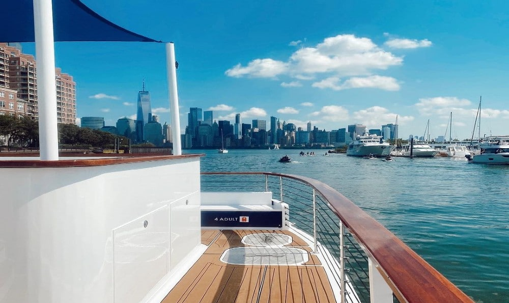 You Can Now Officially Sail Around NYC Via Hot Tub