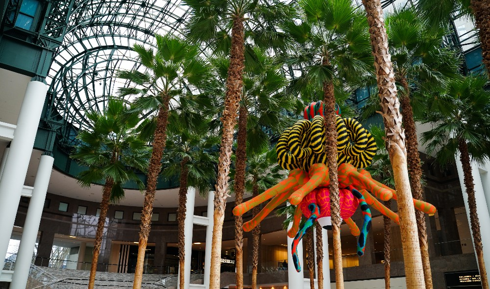 A Massive 'Monster' Art Installation Has Taken Over Brookfield Place For Halloween