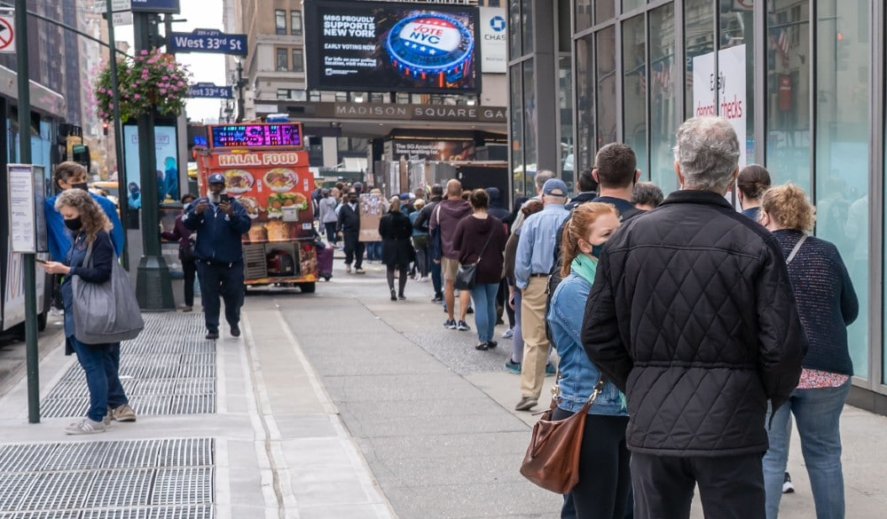 35 Reasons Why New Yorkers Say They Are Lining Up To Vote