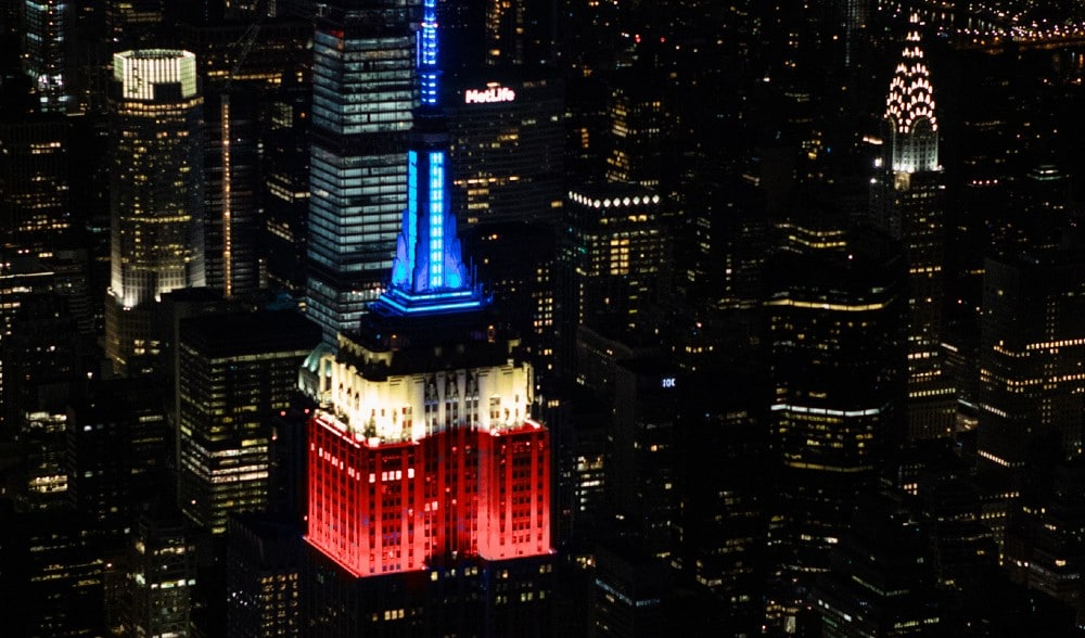 Empire State Building Will Light Up Red, White & Blue Tonight In Honor Of The Election