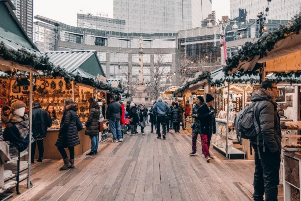 Union Square & Columbus Circle Holiday Markets Will Return To NYC This Year