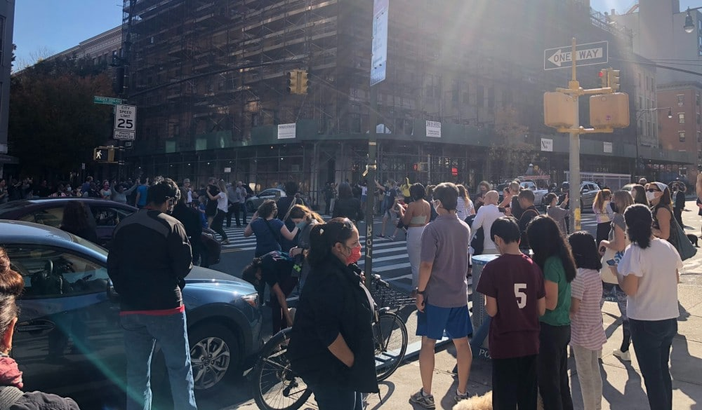 NYers Are Celebrating In The Streets As Joe Biden Is Declared The Next President Of The United States