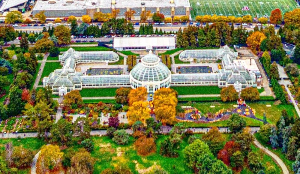 See Beautiful Photos Of The New York Botanical Garden's Fall Foliage Right Now
