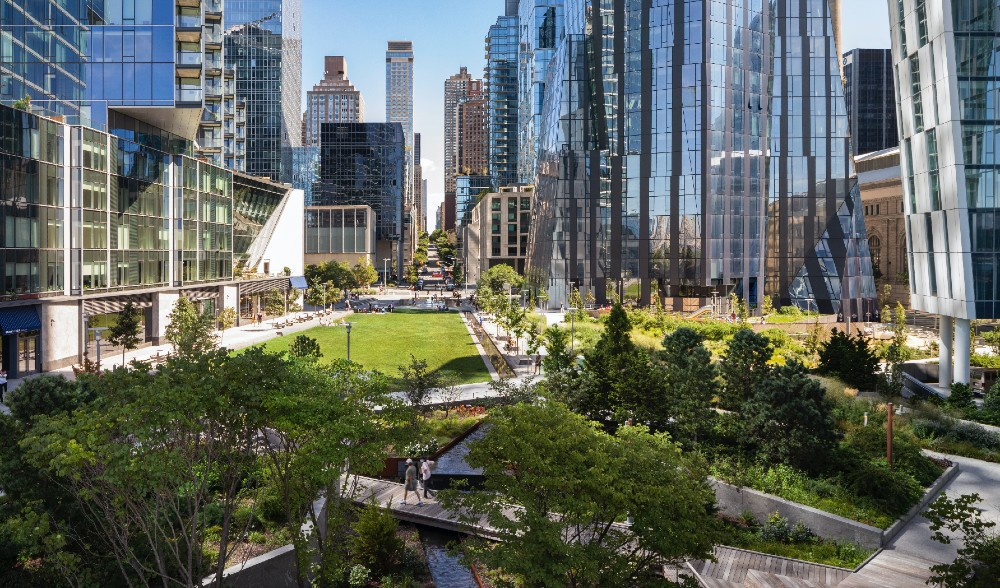 The UWS Has A Brand New Waterfront Park, & It's The Perfect City Refuge For Relaxation