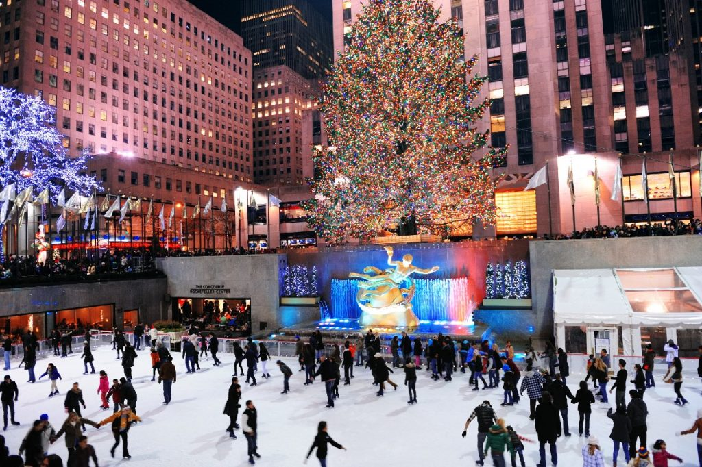 The Ice Rink At Rockefeller Center Will Open Early Next Month