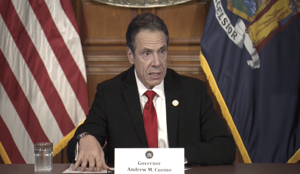 Governor Cuomo's Iconic Daily COVID-19 Press Conferences Just Won An Emmy