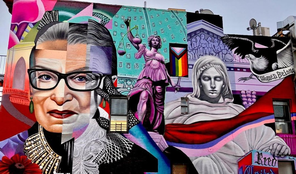 The East Village's Ruth Bader Ginsburg Mural Is Officially Done