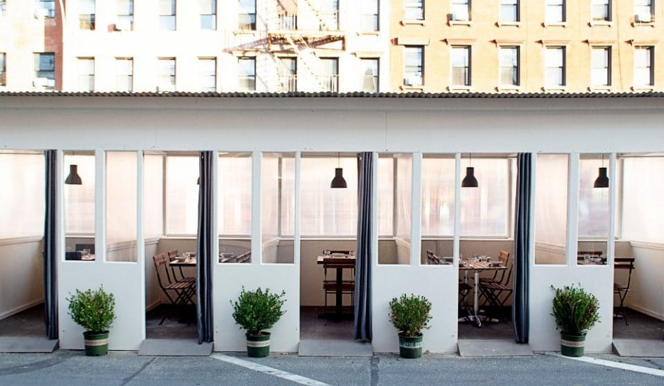 Enjoy Your Own Private, Heated Outdoor Dining Room At This NYC Korean Restaurant