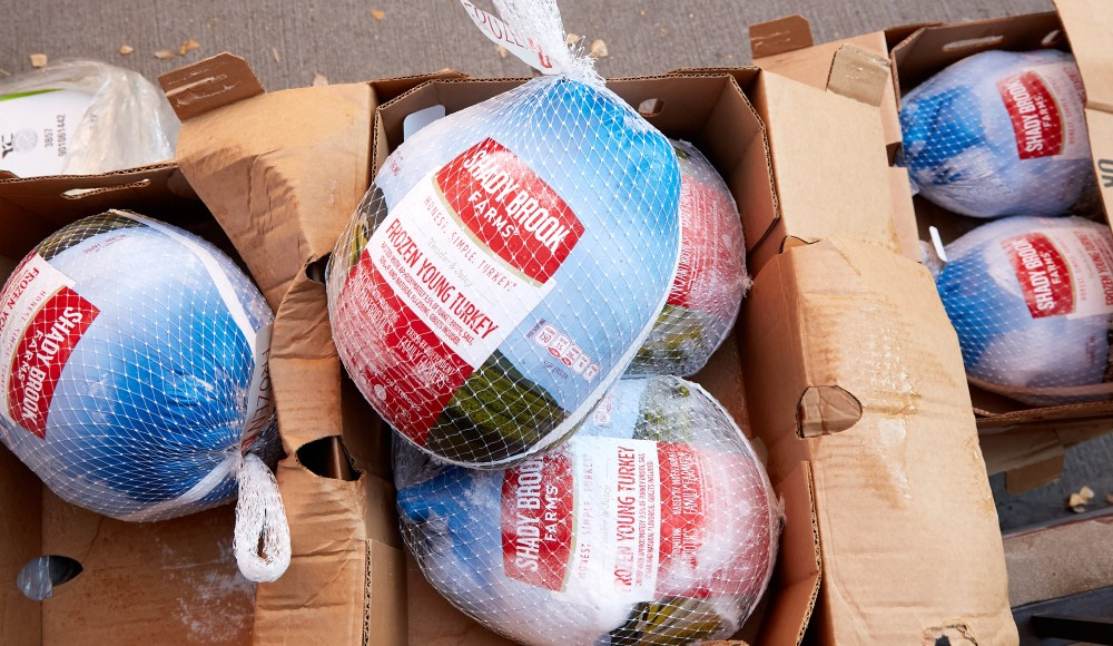 This Organization Is Giving Out 14,000 Free Turkeys To NYers In Need This Thanksgiving