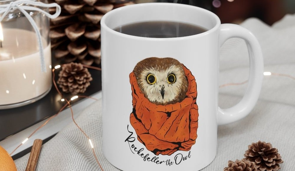 You Can Now Buy Your Own 'Rockefeller The Owl' Merch