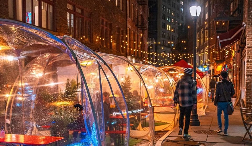 Bubbles, Cabins And Yurts: 25 Of The Most Creative Outdoor Dining Setups In NYC