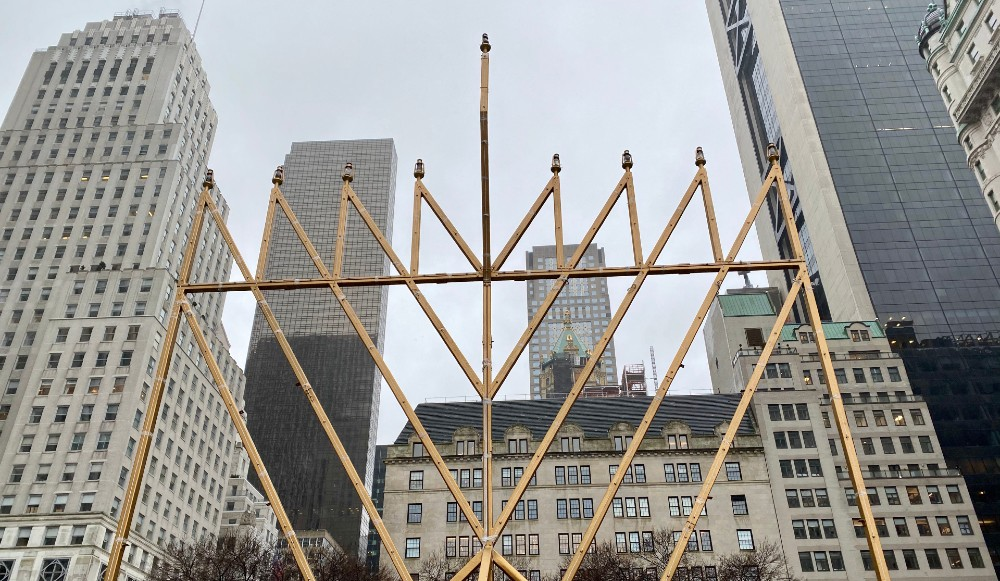 The World's Largest Menorah Will Be Lit Starting Tonight On 5th Avenue