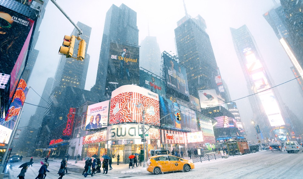 Powerful Winter Storm Could Hit NYC With A Foot Of Snow This Week