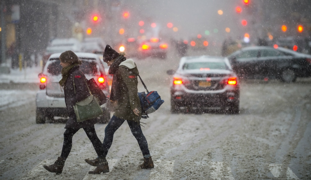 Snow Followed By A Deep Freeze Is Expected To Hit NYC This Week