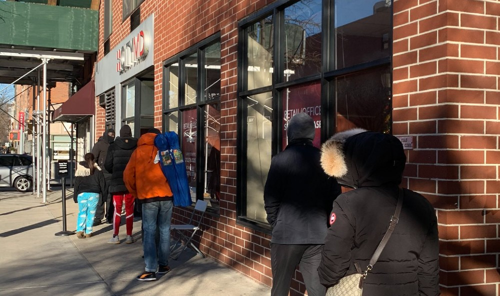 This Twitter Account Shares What The Line Looks Like At CityMD