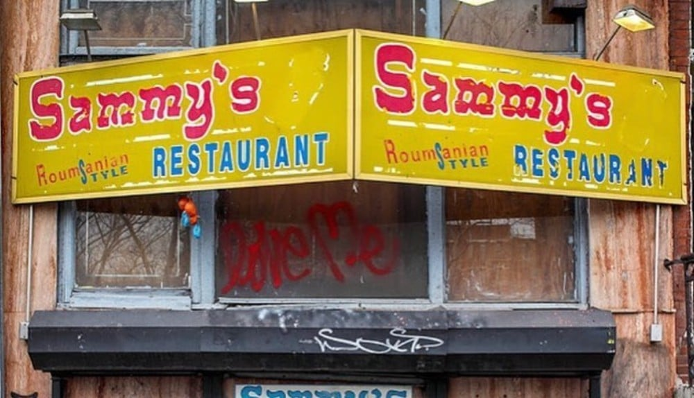 Lower East Side Icon Sammy's Roumanian Restaurant Has Closed