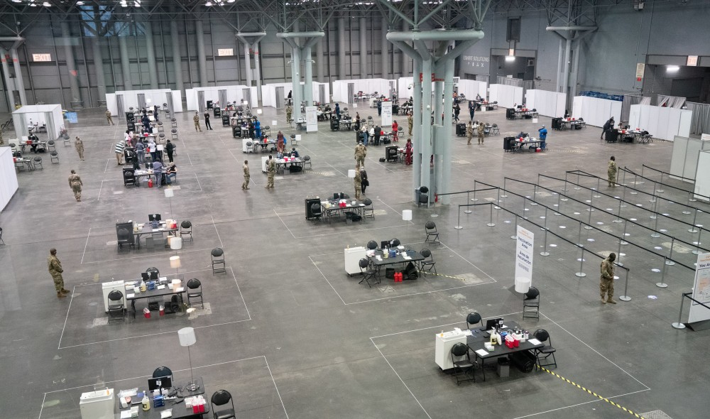 Photos: The Javits Center Has Transformed Into A Massive Vaccine Distribution Site