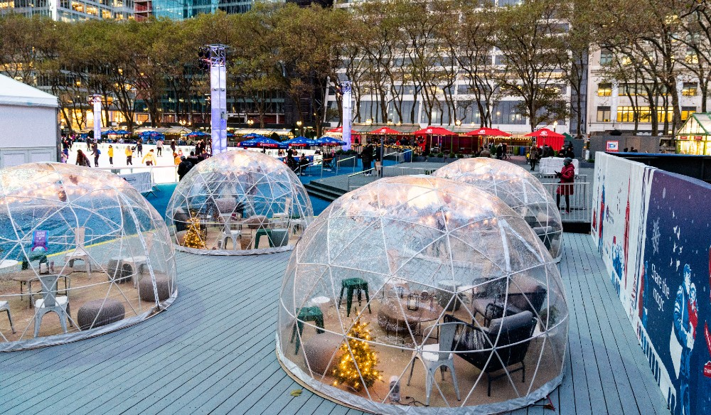 10 Spots In NYC Where You Can Dine In A Cozy Winter Igloo