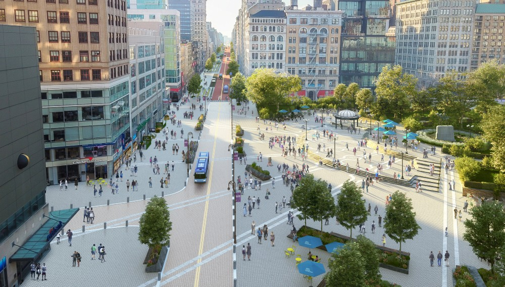 A Giant $100 Million Expansion & Redesign Is In The Works For Union Square