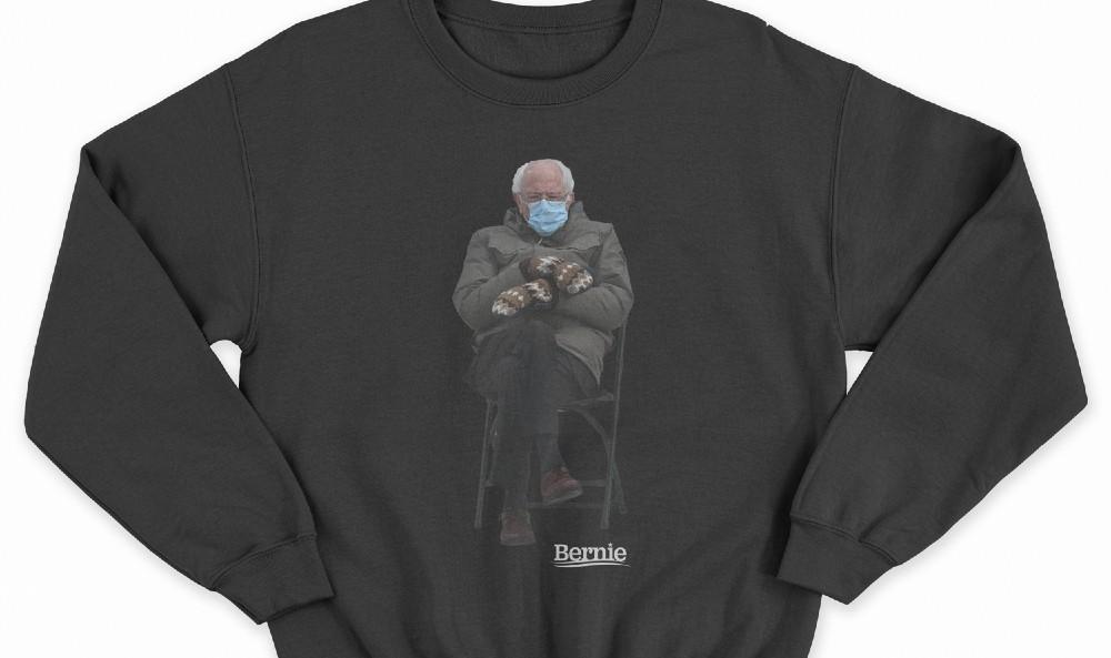 Yes, Bernie Sanders Has Now Turned His Own Meme Into A Sweatshirt