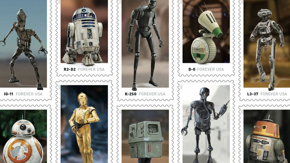 'Star Wars' Galactic Droids Will Help The USPS Deliver Mail This Year