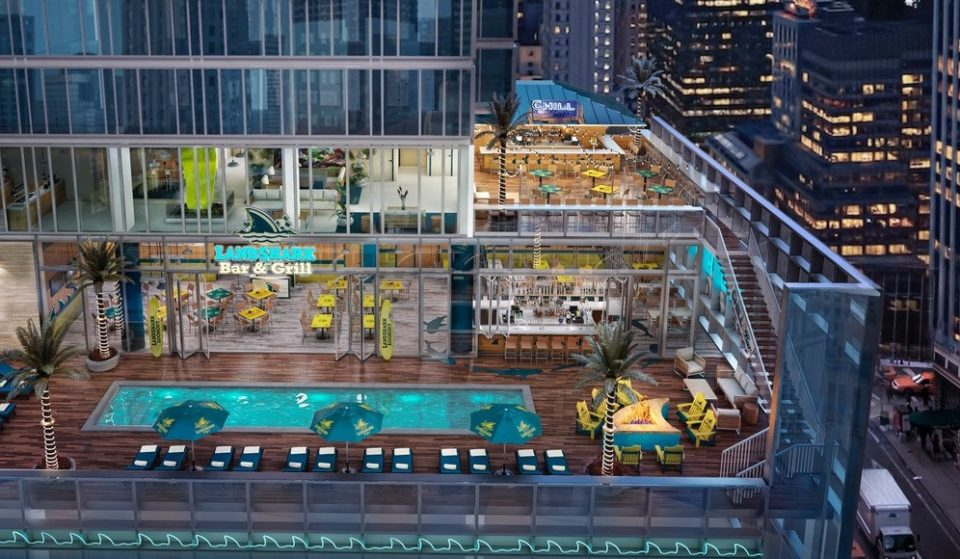 See Inside The Newly Opened Margaritaville Hotel With Times Square's Only Outdoor Pool