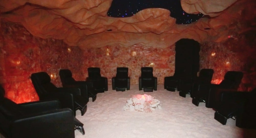 NYC's Himalayan Salt Cave Is A Therapeutic Oasis