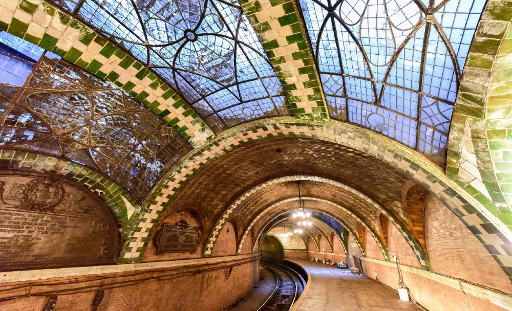 Ride Through Abandoned Subway Stations On This Underground Tour Of NYC