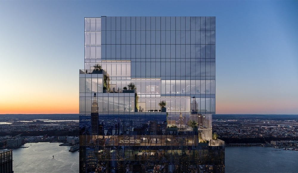 Spiraling Skyscraper In Hudson Yards Reaches 1,031 Feet Tall