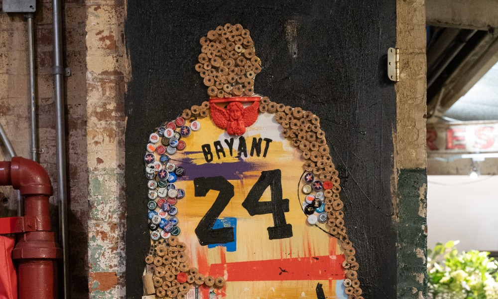This Free New Exhibit In Chelsea Market Pays Tribute To RBG, Kobe Bryant & More