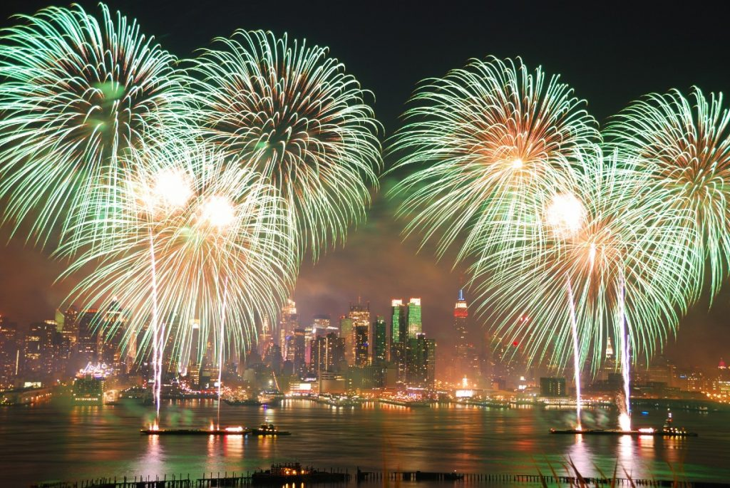 Surprise Fireworks Will Light Up NYC Tonight To Celebrate 70 Percent Of The State Vaccinated