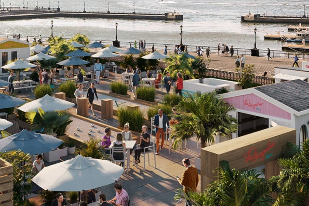 This New Beachfront-Inspired Paradise Is Serving Vacay Vibes All Summer Long In Lower Manhattan
