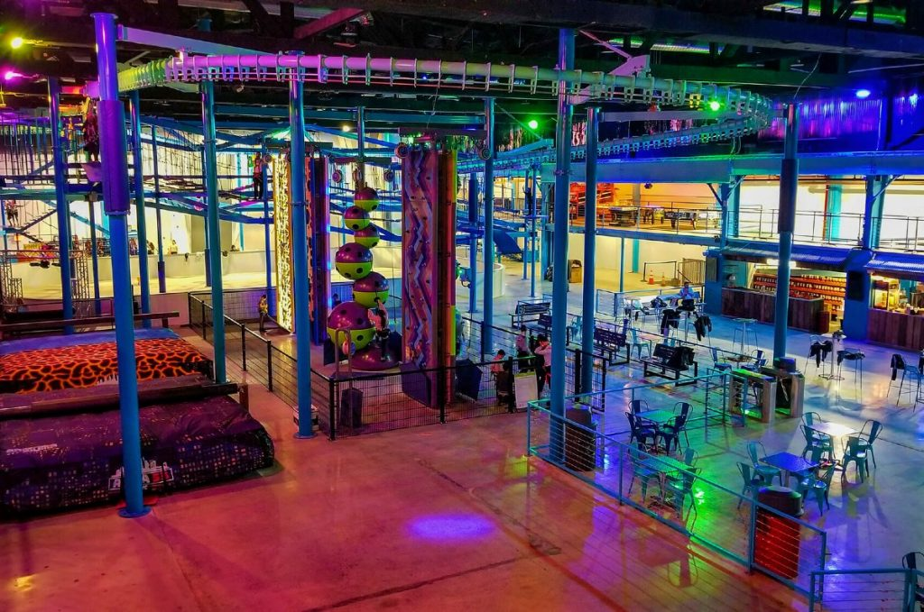 A 40,000-Square-Foot Indoor Adventure Park Is Now Open In Williamsburg