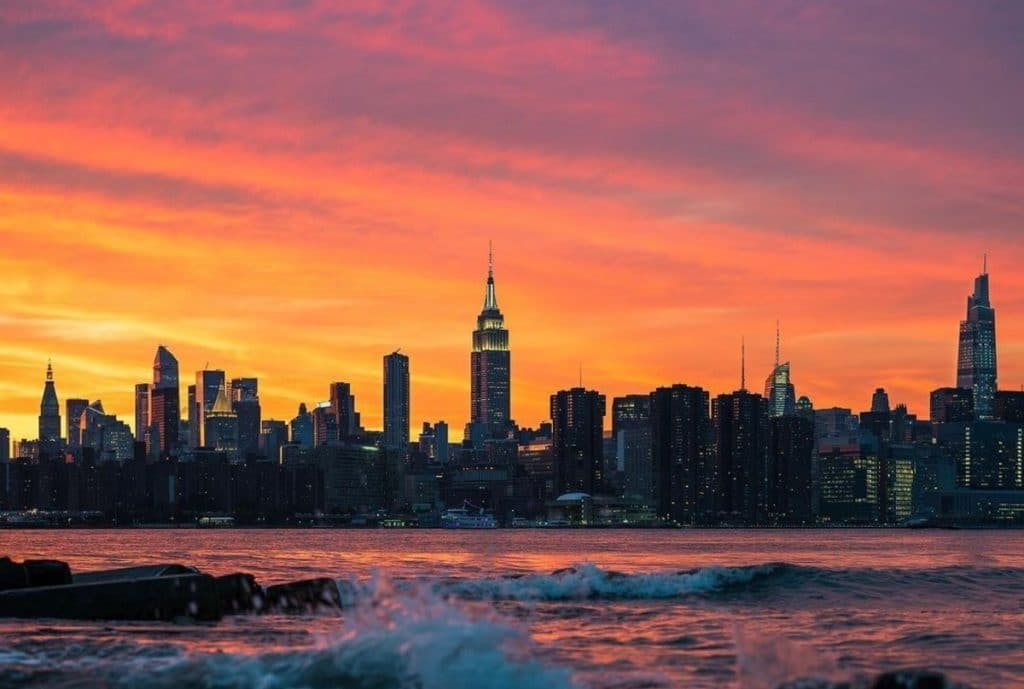 Tonight Will Be NYC's Last 7 p.m. Sunset Until March 2022