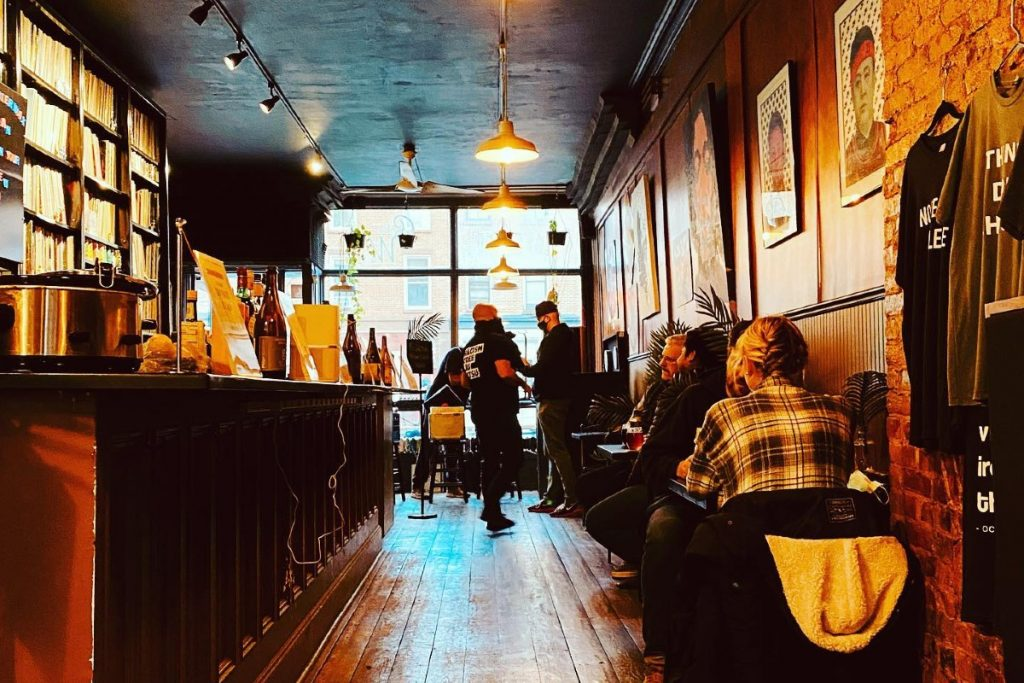 This Under The Radar, Black-Owned Business Is NYC's First-Ever Vinyl Record Craft Beer Bar