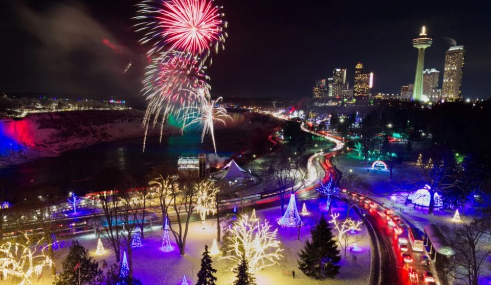 The Winter Festival Of Lights Will Illuminate Niagara Falls This Winter