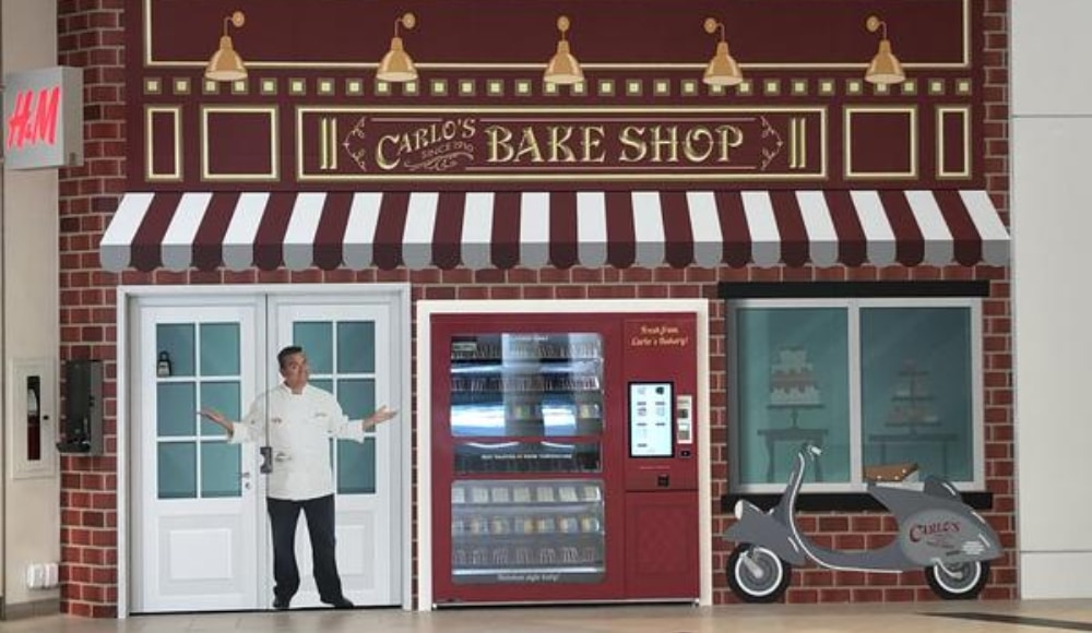 A Sweet 'Cake Boss' ATM Is Dishing Out Tasty Cakes In Ottawa