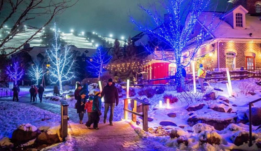 Blue Mountain Has Been Totally Transformed Into A Magical Holiday Wonderland In Ontario
