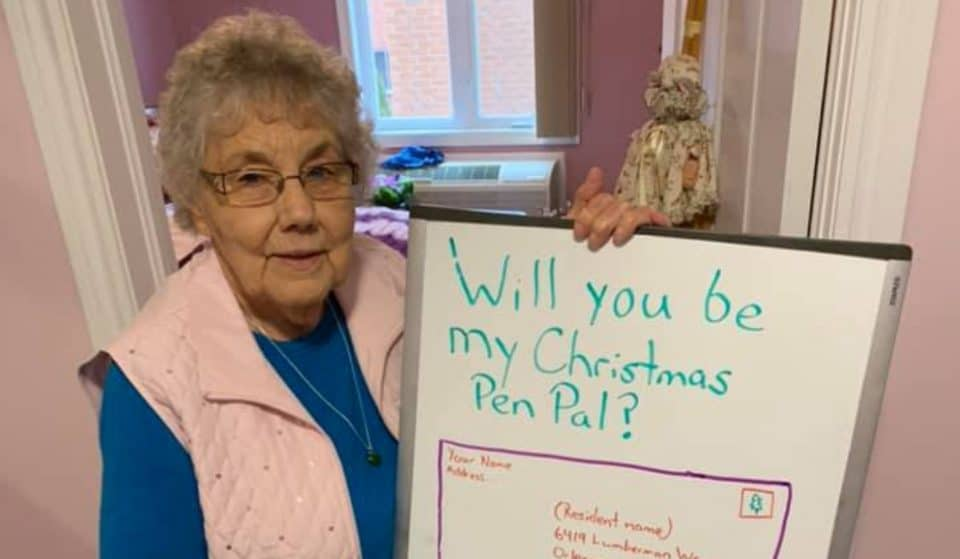 Senior Residents At A Retirement Home In Ottawa Are Looking For Christmas Pen Pals