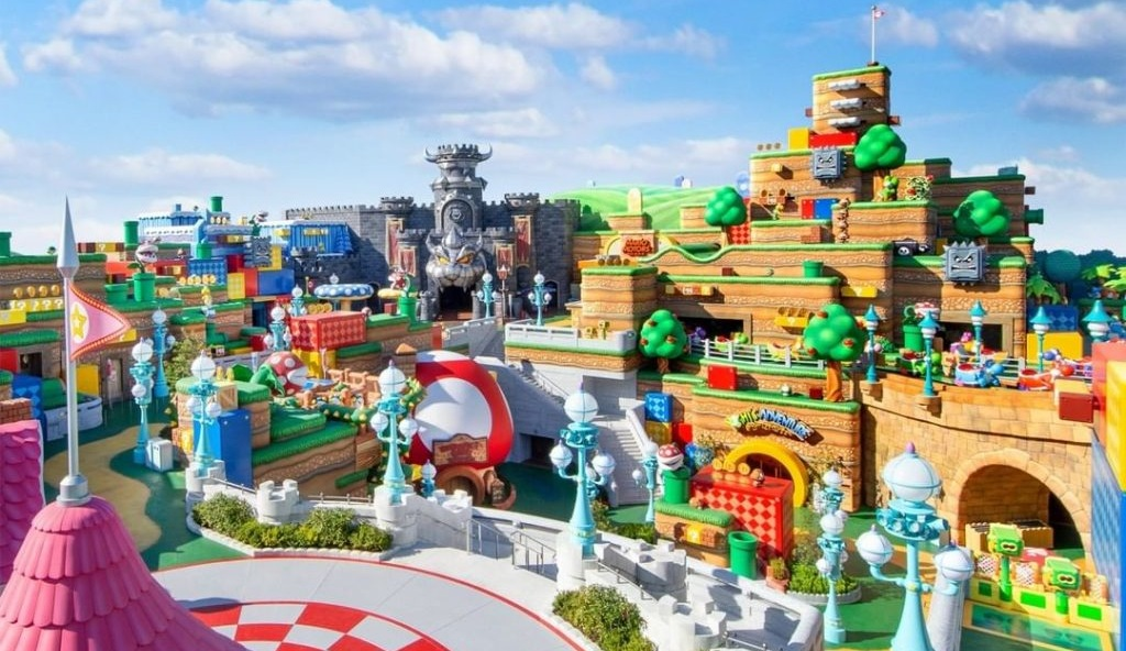 Super Nintendo World Japan – With Real Life Mario Kart – Set To Open Up in February 2021