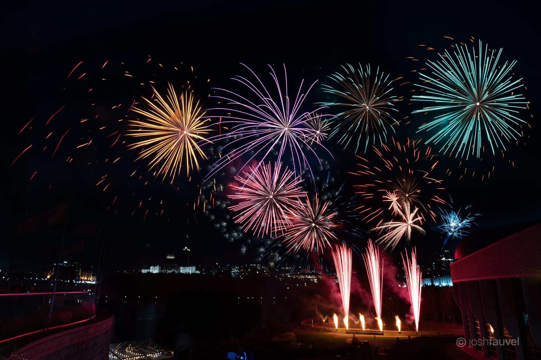 Don't Miss This Weekend's Last Showing Of The Sound Of Light Fireworks