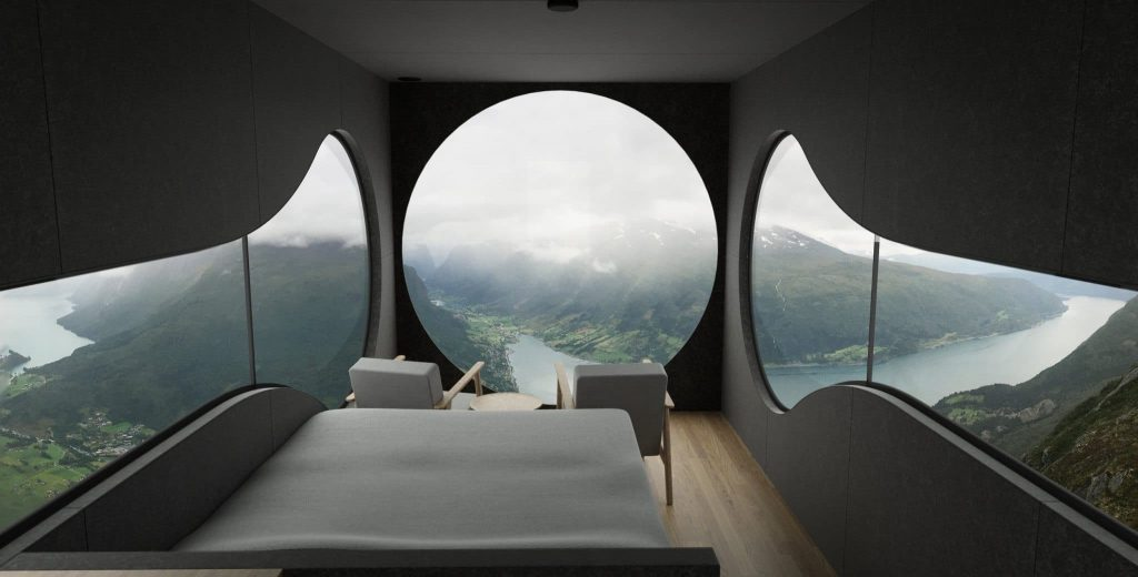 You Can Now Stay In A Dreamy Little Cabin Overlooking A Norwegian Fjord