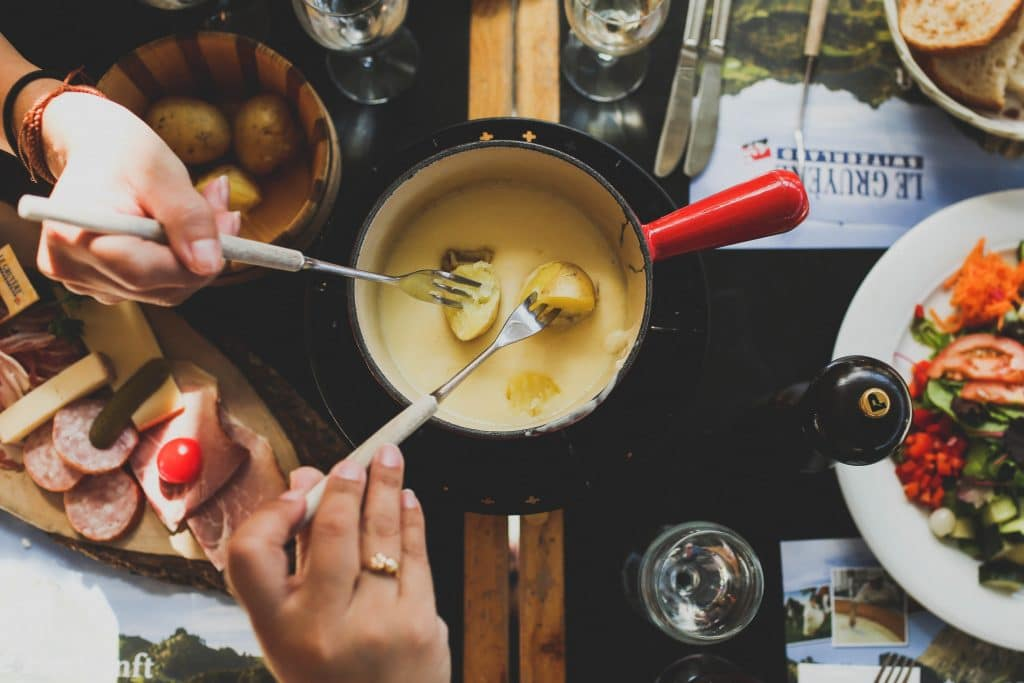 ALDI Is Selling Super Cheap And Super Gooey French Fondue Cheese Pots