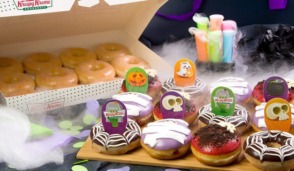 No Tricks, Just Treats — Sink Your Teeth Into Krispy Kreme's Spooky Halloween Doughnuts