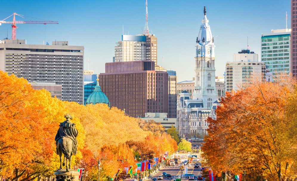 where to see changing leaves Philly