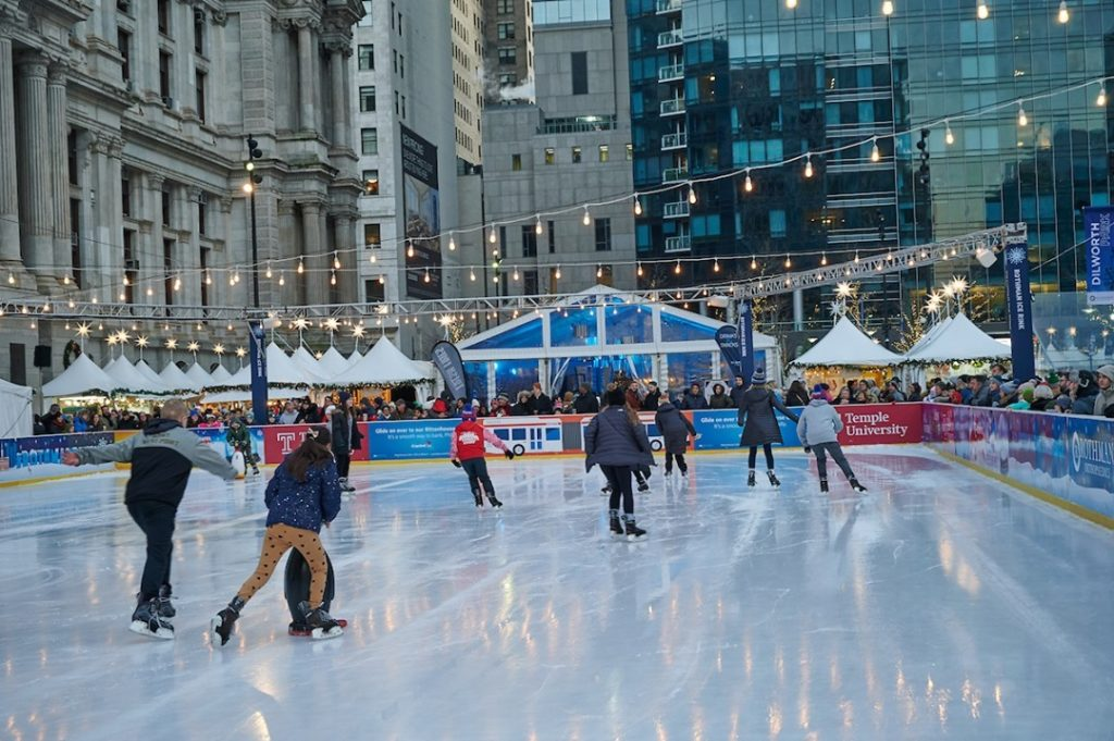 The Ice Rink At Dilworth Park Is Opening This Friday