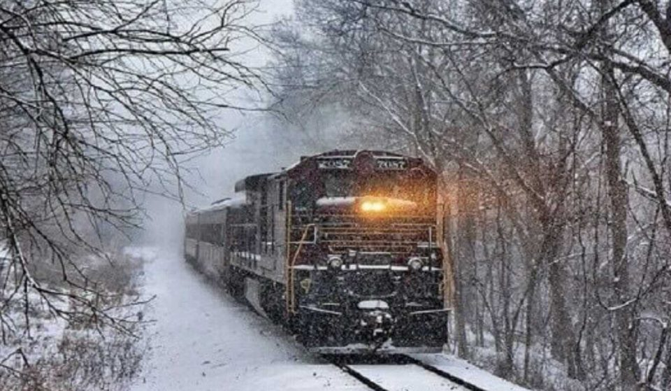 Get Whisked Away To The North Pole On This Magical Train Ride Just Outside Of Philly