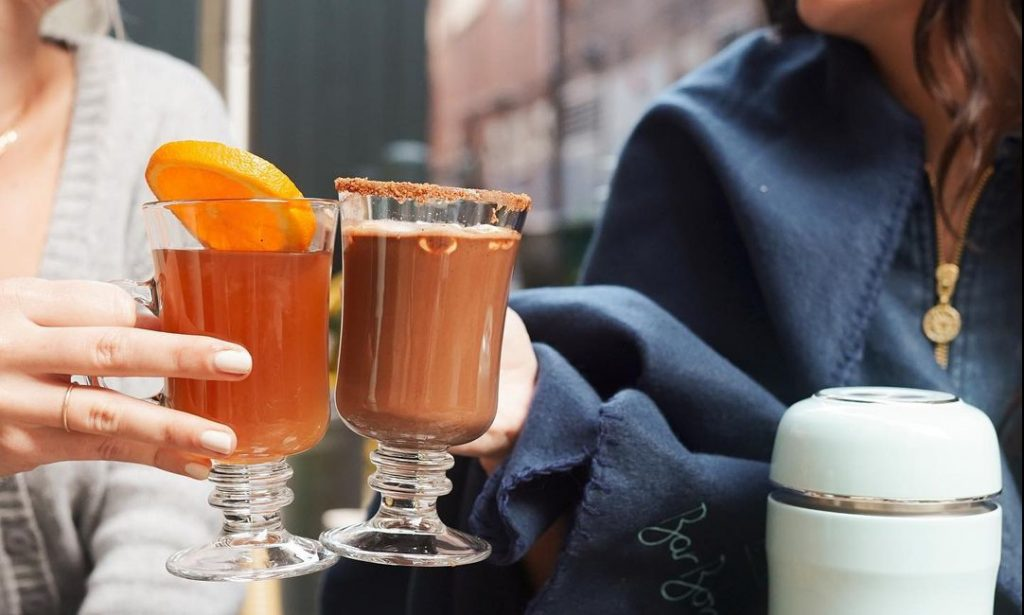 This Center City Bar Is Serving Hot Cocktails That Will Keep You Warm All Winter Long • Bar Bombón