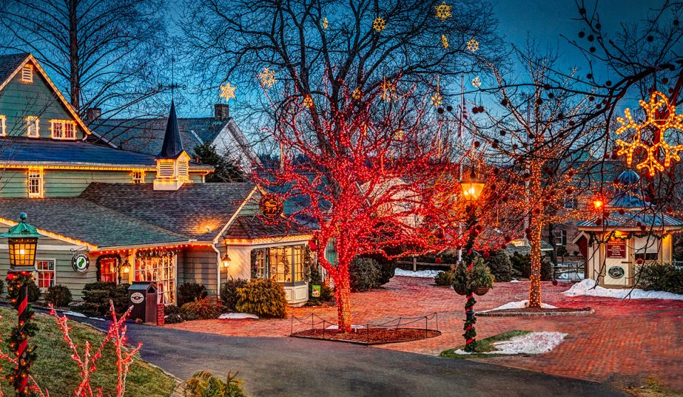 Holidays In The Village at Pedler's Village Is Now Back For The Season